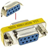 de genre Changeur 9 Broches Femelle Vers Femelle Serie Coupleur RS232 adaptateur