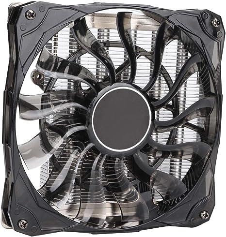 ASHATA ID-Cooling IS-50 CPU Radiador 5 Pipas de Calor Enfriador de ...