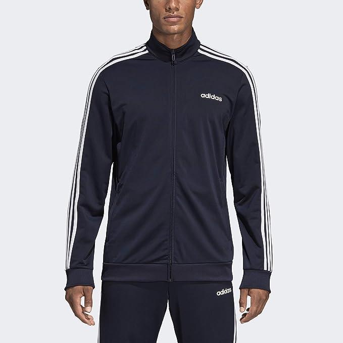 adidas Essentials 3 Stripes Tricot Track Top: Amazon.it