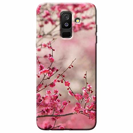 Shaivya Pink Flower Bush Silicone Rubber Finished Tpu Amazon