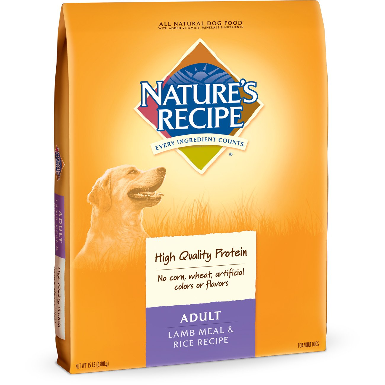 Amazon natures recipe adult dog food dry lamb meal rice amazon natures recipe adult dog food dry lamb meal rice recipe 15 pound pet supplies forumfinder Images