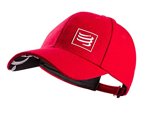 buy online speical offer good texture Compressport Casquette Wool: Amazon.co.uk: Sports & Outdoors