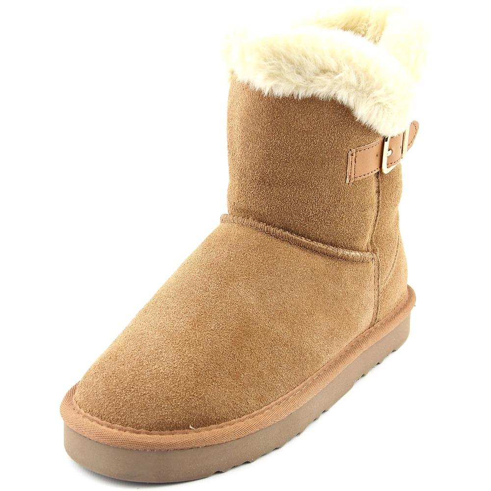 Style & Co. Womens Tiny 2 Suede Closed Toe Mid-Calf Cold Weather Boots Chestnut 8.0 M US
