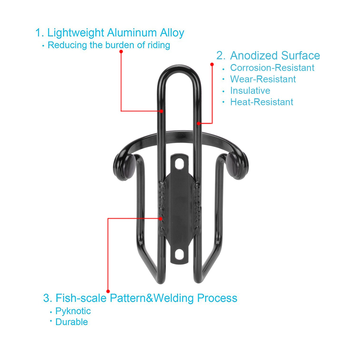 Lightweight Durable Aluminum Cycling Bicycle Image 3