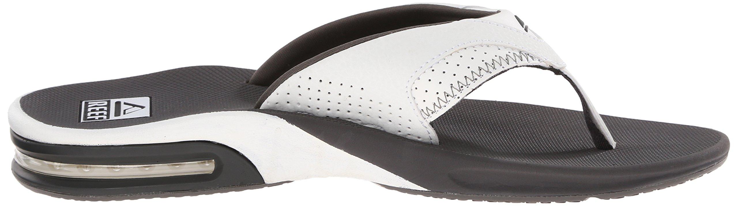 Reef Fanning Mens Sandals  Bottle Opener Flip Flops For Men,GREY/WHITE,7 M US by Reef (Image #8)