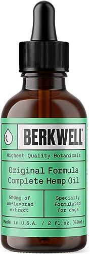 Berkwell Original Formula Complete Hemp Oil for Dogs