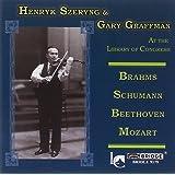 Henryk Szeryng & Gary Graffman at the Library of Congress