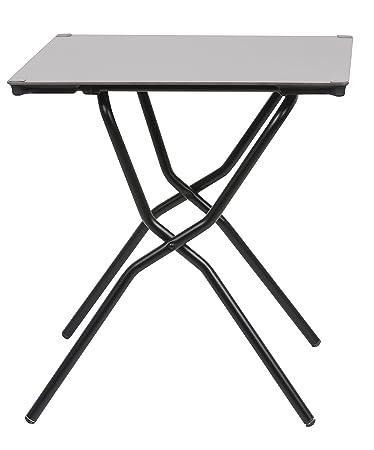 Gartentisch klappbar wetterfest  Lafuma Quadratischer Gartentisch, für 2 Personen, Klappbar ...