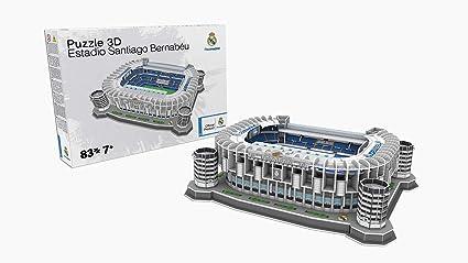 NANOSTAD Estadio Santiago Bernabeu (Real Madrid CF) Puzzle 3D (Producto  Oficial Licenciado) d94eeaa96edf5