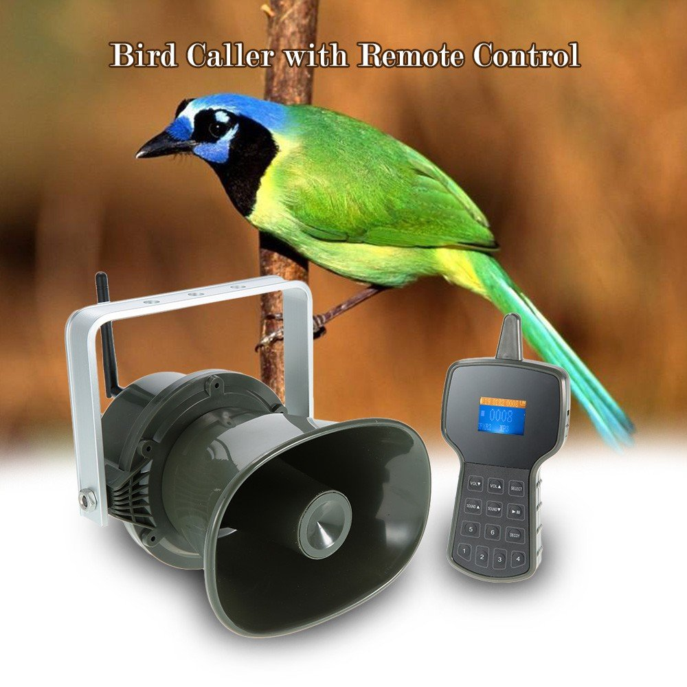 Up Force Electronic Predator Game Call with Two-Way Synchronization Remote Built-in 50W Speaker Powerful Hunting Device