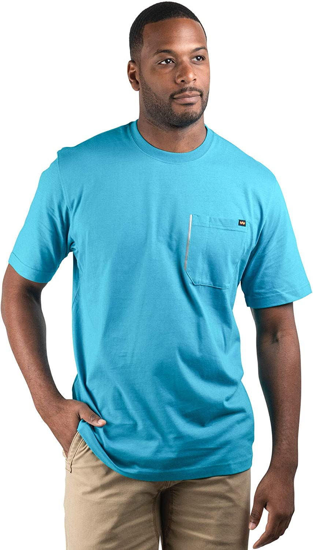 Walls Mens Grit Heavyweight Short-Sleeve Cotton Work T-Shirt
