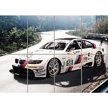 Amazon Com Bmw M3 E92 Sports Rally Car Giant Picture Art Print