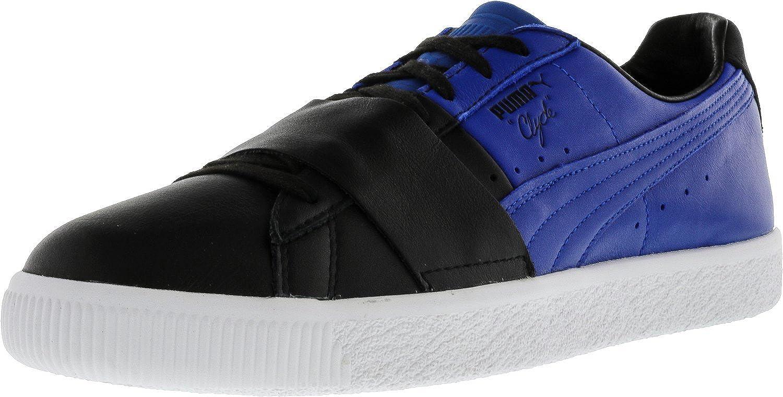 Bloc De Couleur Clyde Hommes Pumas 1 Noir / Bleu Lapis De Chaussures De Sport réduction classique dernière actualisation exclusif réduction abordable sortie combien 8sV5U
