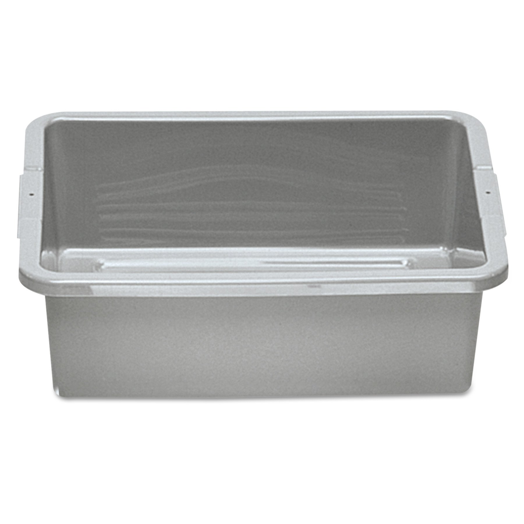 Rubbermaid Commercial 335192GRACT Bus/Utility Box, 7.125gal, Gray (Case of 100)