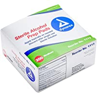 Deals on Dynarex Alcohol Prep Pad Sterile, Medium, 200 count