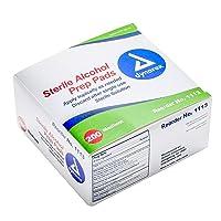 Dynarex Alcohol Prep Pad Sterile, Medium, 200 count