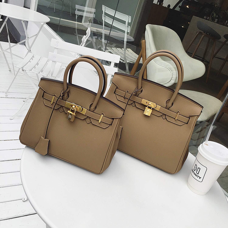 Chibi-store Grained Women Handbags PU Leather Causal Tote Luxury Female,Red,Medium Size Hot Sale