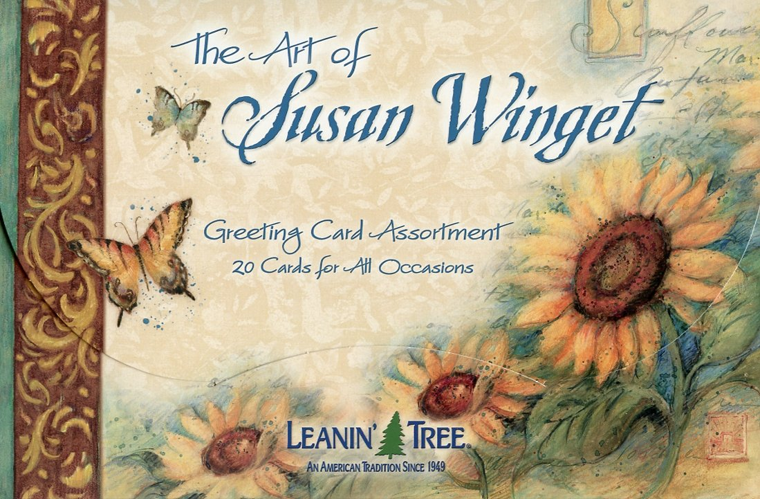 Amazon.com : The Art of Susan Winget - 20 cards with full-color ...