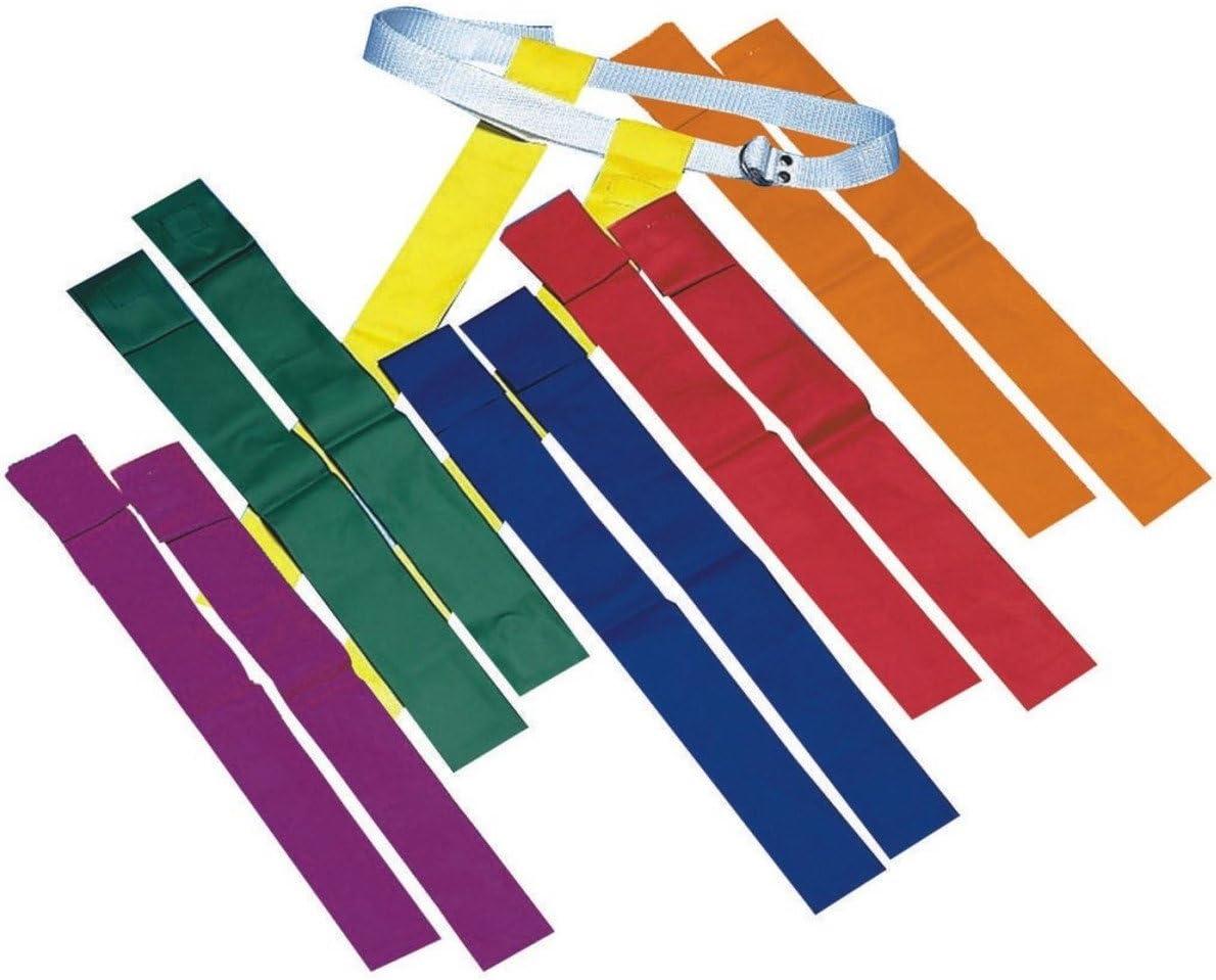 Spectrum Flag Footballセット( Set of 12 ) -緑
