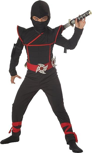 Amazon.com: California Costumes Toys Stealth Ninja, Disfraz ...