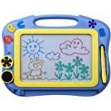 ikidsislands IKS85B [Travel Size] Color Magnetic Drawing Board for Kids, Doodle Board for Toddlers, Sketch Pad Toy for…