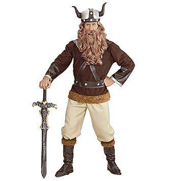 """Mens Vikingo Velkan vestuario Medio Reino Unido 40/42""""para Toga Party Roma Sparticus"""