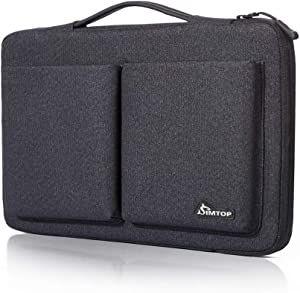 "SIMTOP Versatile Laptop Sleeve Compatible with 15.6 Inch Laptop Such as HP 15s-fq0012na 15.6'' Full HD Laptop, ASUS 15.6"" VivoBook and Full HD Laptop K505ZA, Lenovo Ideapad 330-15AST and More"