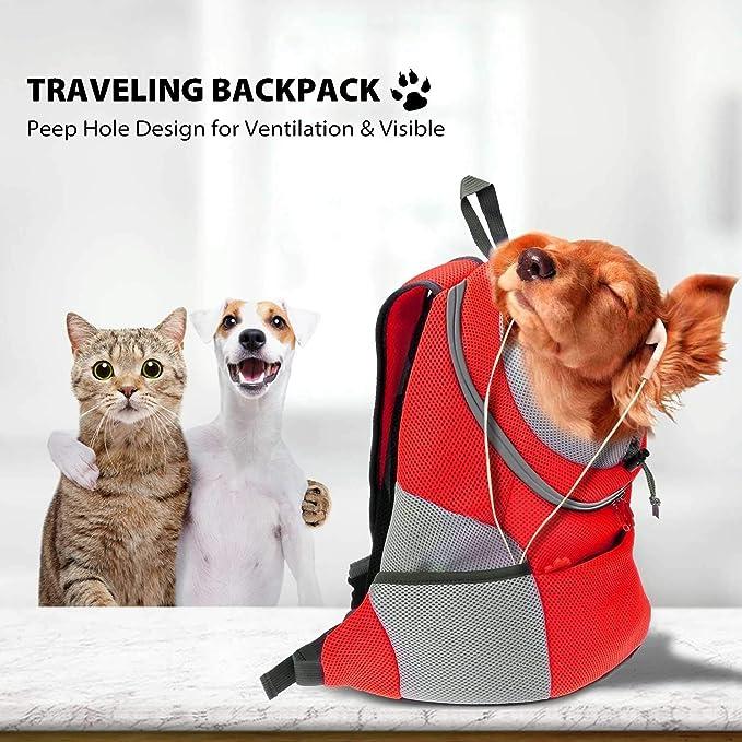 Petcute Rucksack Für Haustier Haustiertragetasche Rucksack Haustier Tasche Für Hunde Airline Genehmigt Haustier