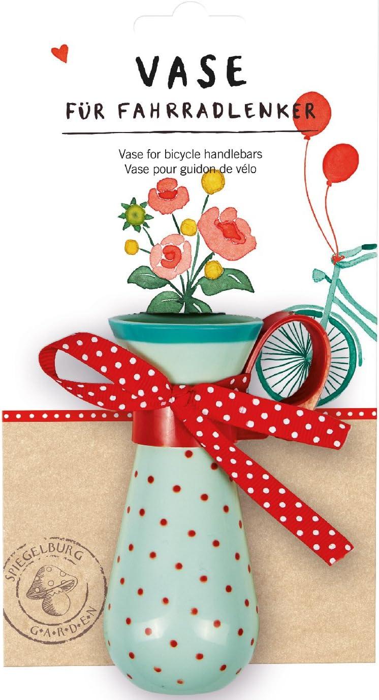 Zeitlos schön 15567 Die Spiegelburg Vase für Fahrradlenker