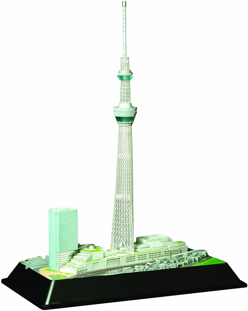 童友社 1/3000 タワーシリーズ 東京スカイツリー 雅風 LEDライト付 プラモデル