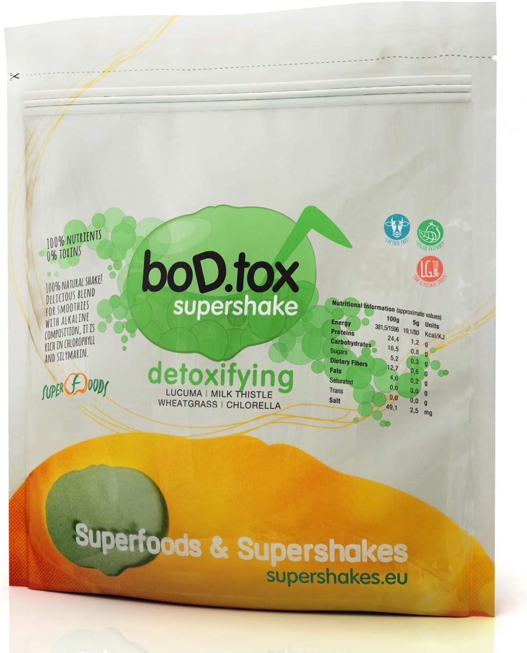 BoD.tox 500 g | Desintoxicante | Clorofila | Cuida el hígado | Equilibra el colesterol