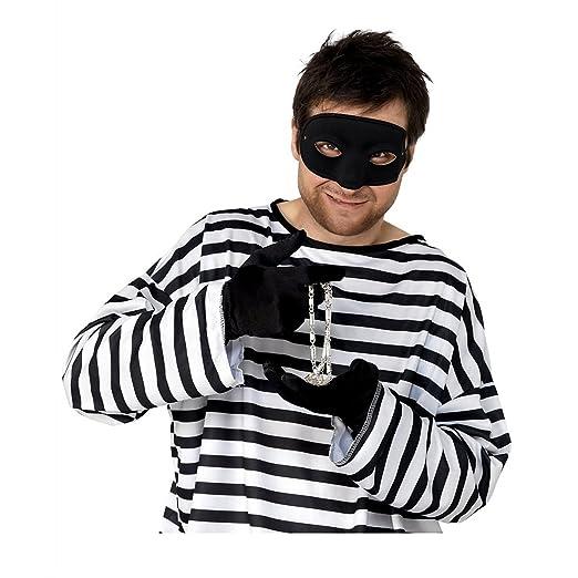 amazon com burgler eyemask costume accessory clothing