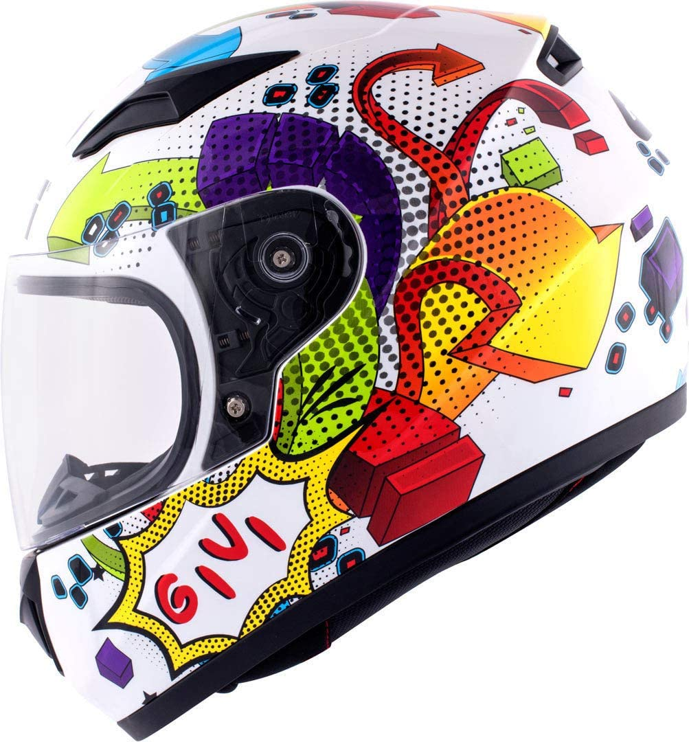 HJ04 Kinder-Integral-Helm Junior GiVi HJ04FB91050 HPS