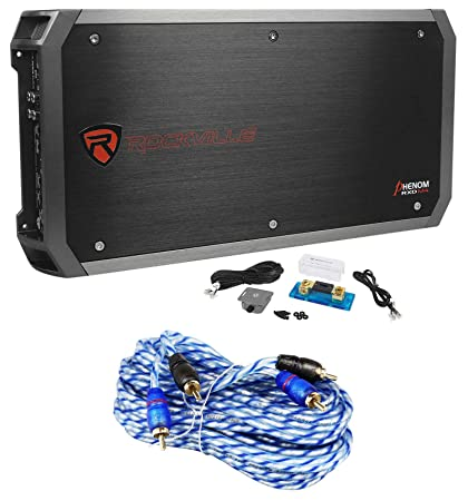 Rockville RXD-M4 6000 Watt Mono Class D 1-Ohm Car Audio Amplifier Car Stereo Amp