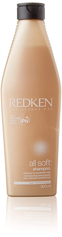 Redken all Soft shampoo Softness for Dry/Brittle Hair 300ml/10.1fl. oz. Redken 5Th Avenue NYC 70