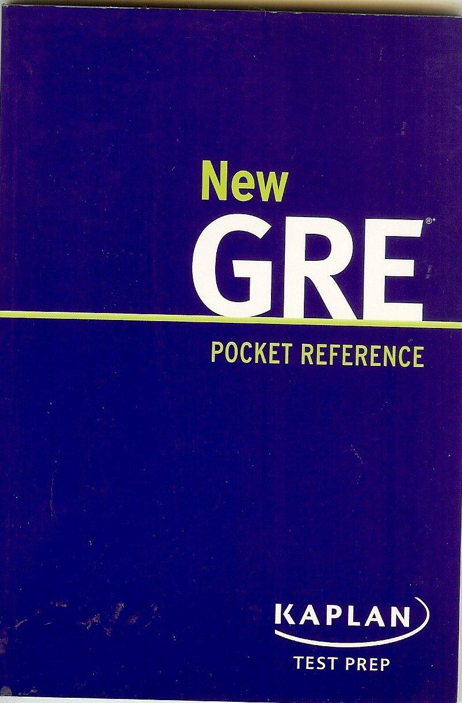 Workbooks kaplan gre verbal workbook : Kaplan New GRE Pocket Reference: Kaplan: Amazon.com: Books