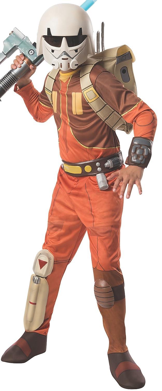 Child Medium Rubies Star Wars Rebels Deluxe Ezra Costume