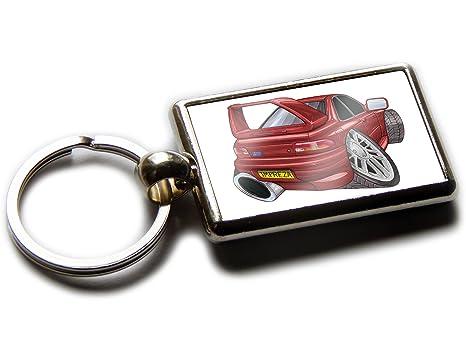 Koolart Subaru Impreza STI - Llavero con Vista Trasera para ...