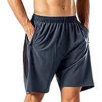 Pantalones Cortos Deportivos para Hombre Transpirable Secado Rapido para Running Fitness Gym