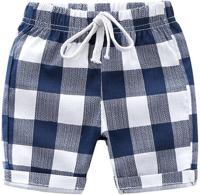 huateng Pantalones Cortos de Verano Pantalones Cortos de niños ...