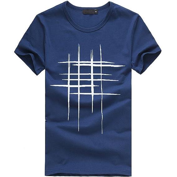 Cinnamou-hombre Camisetas Impresas Camiseta de Manga Corta Para Adolescentes, Blusas de Algodón, Blusas Ocasionales con Estampado Gráfico: Amazon.es: Ropa y ...