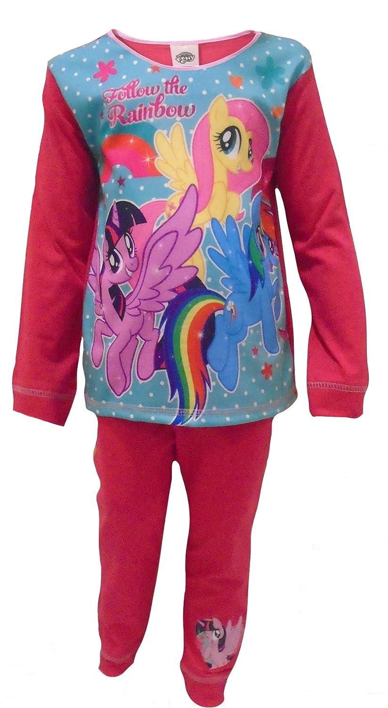 My Little Pony Rainbow Girls Two Piece Pajama Set