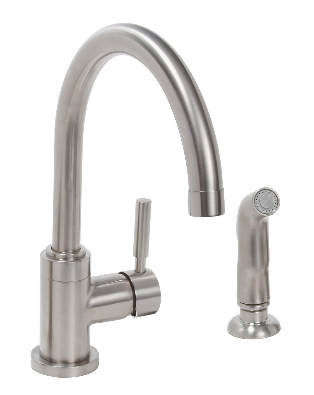 Premier Faucet 120098 Essen Lead-Free Single-Handle High-Arc Kitchen ...