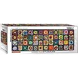 EuroGraphics Color Squares Panoramic by Wassily Kandinsky Puzzle de 1000 Piezas (6010-5443)