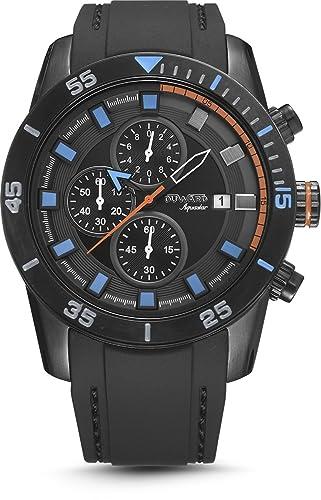 Reloj Duward para Caballero cronógrafo en negro modelo D85506.55: Amazon.es: Relojes