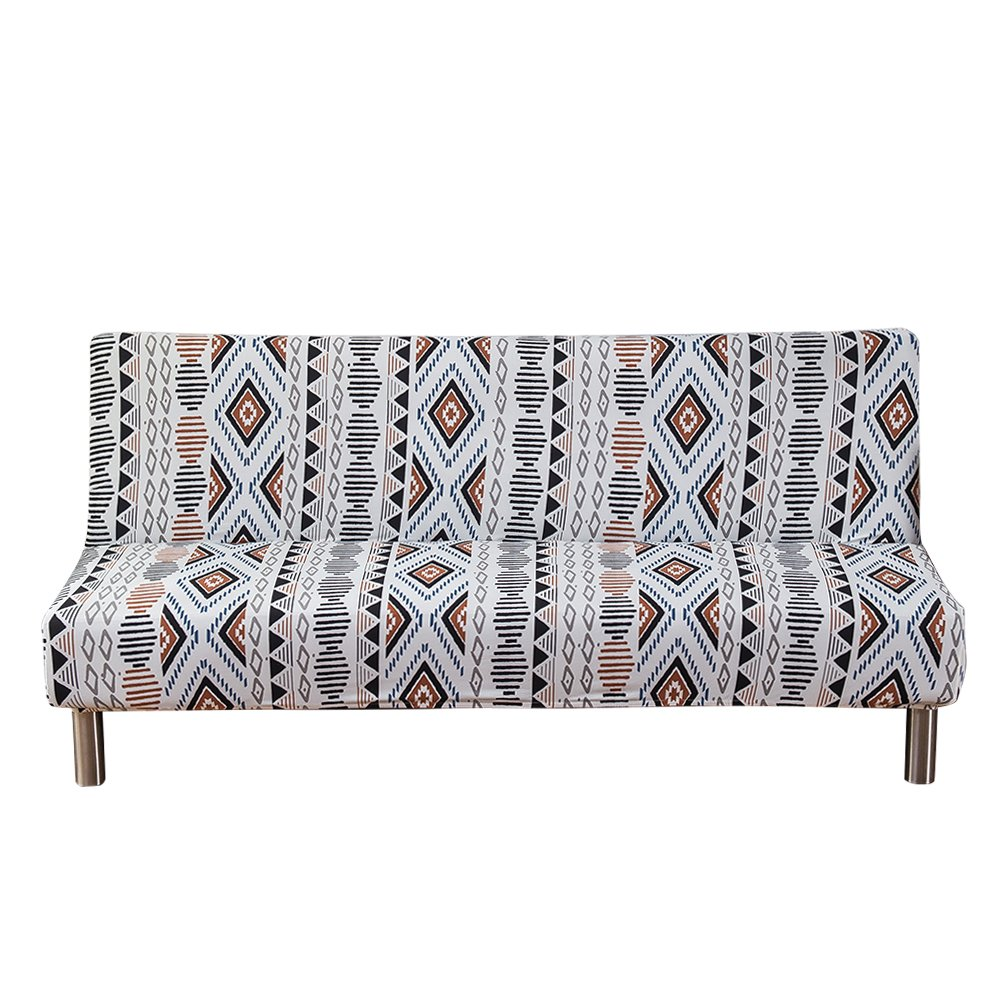 Groovy Ounona Futon Cover Armless Sofa Slipcover Thicken Stretch Download Free Architecture Designs Scobabritishbridgeorg