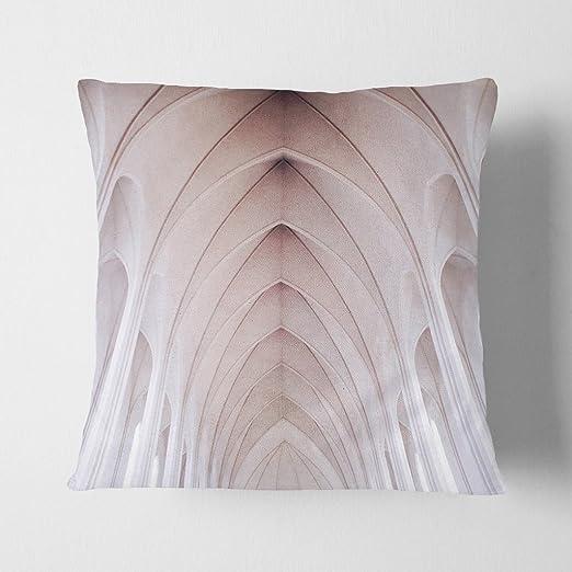 Big Box Art Arquitectura Iglesia Techo Blanco con cojín ...
