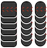 Coomatec 18 PCS Gel Pads Replacement Unit Set Pack for All Abdominal Belts
