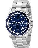 Michael Kors Herren-Armbanduhr XL Fashion Chronograph Quarz Edelstahl MK8123