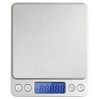 Etekcity® EK6314-T Báscula Digital de Cocina, 5kg / 11lb, Balanza de